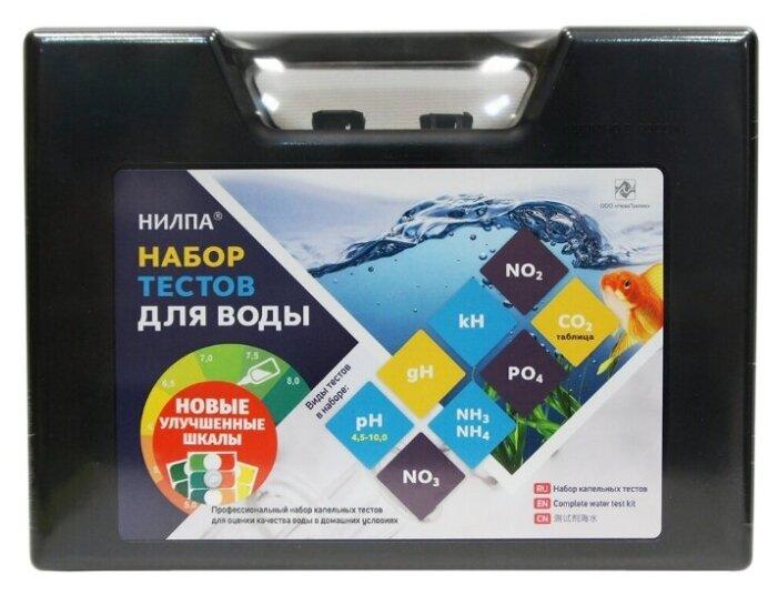 Нилпа набор тестов для воды тесты для аквариумной воды (набор)