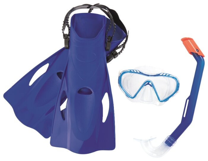 Набор для плавания с ластами Bestway Firefish размер 37-41