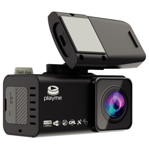 Купить Видеорегистратор Playme TIO S, GPS черный