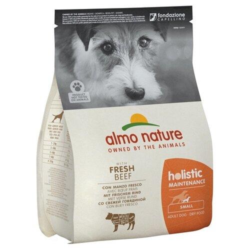 Фото - Сухой корм для собак Almo Nature Holistic, говядина 2 кг (для мелких пород) сухой корм для собак мелких пород pedigree говядина 2 2 кг