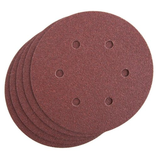 Шлифовальный круг на липучке Metabo 624021000 150 мм 25 шт круг шлифовальныйна липучке metabo 624041000 10 шт 80 мм р40