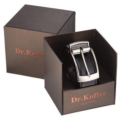Ремень Dr.Koffer R026T-01-120-50, черный, 120 см