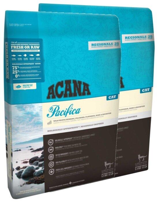 Корм для кошек Acana Regionals Pacifica беззерновой, рыбное ассорти