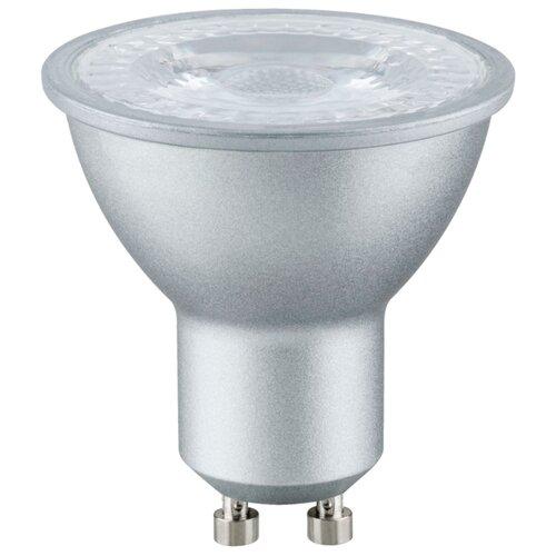 Лампа светодиодная Paulmann 28300, GU10, 6.5Вт лампа светодиодная paulmann 28224 gu10 3вт