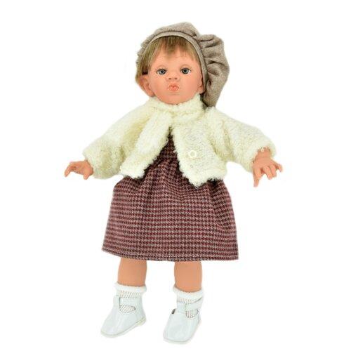 Кукла Lamagik Поцелуй девочка в сером берете, 38 см, 12123C