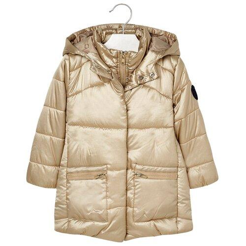 Купить Куртка Mayoral размер 116, бежевый, Куртки и пуховики