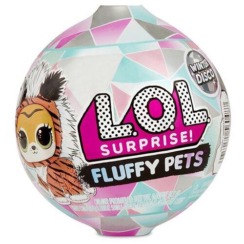 Игровой набор MGA Entertainment LOL Surprise Fluffy Pets Winter Disco 559719 mga игровой набор mga entertainment ready2robot капсула и минибот набор 3