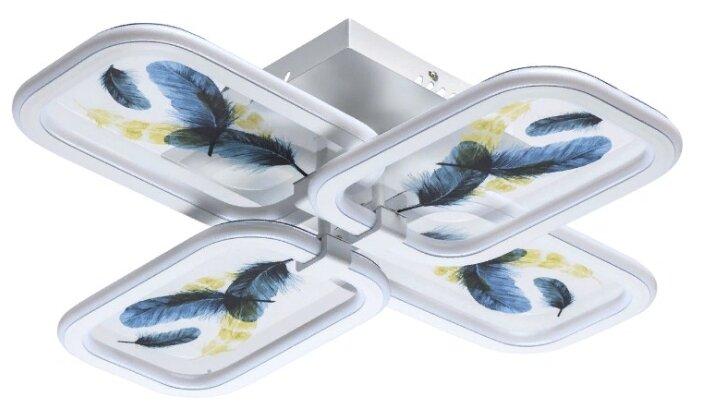 Люстра светодиодная De Markt Мадлен 424010704, LED, 116 Вт — купить по выгодной цене на Яндекс.Маркете