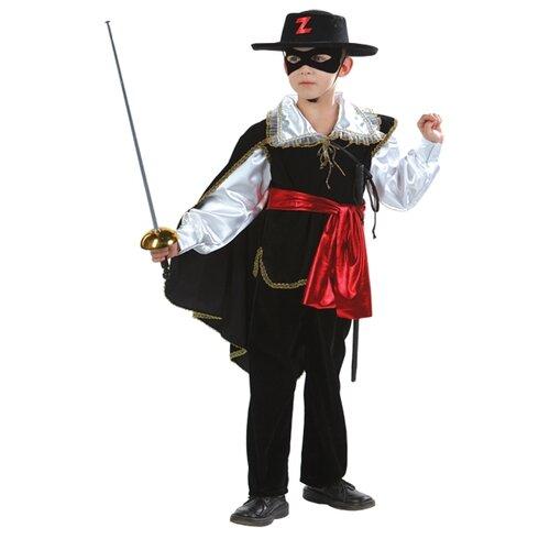Купить Костюм Батик Зорро (426), черный, размер 158, Карнавальные костюмы
