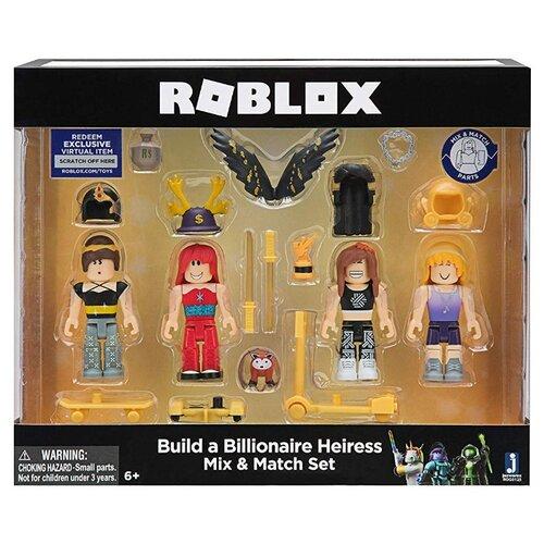 Фото - Набор фигурок Roblox: Build A Billionaire Heiress набор фигурок roblox fashion famous