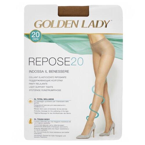 Колготки Golden Lady Repose 20 den, размер 2-S, melon (бежевый) колготки golden lady mara 20 den размер 6 xxl melon бежевый
