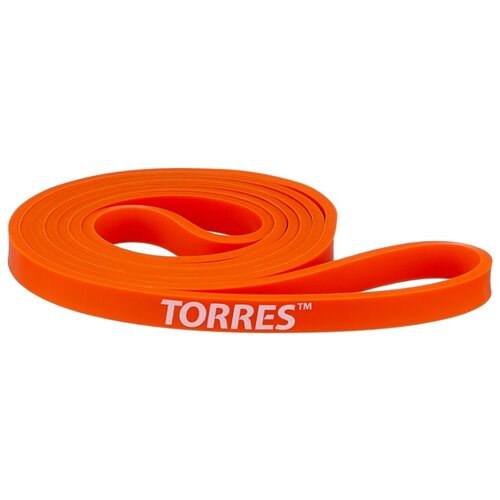 Эспандер лента TORRES AL0046 208 х 1.3 см оранжевый эспандер бабочка torres thigh