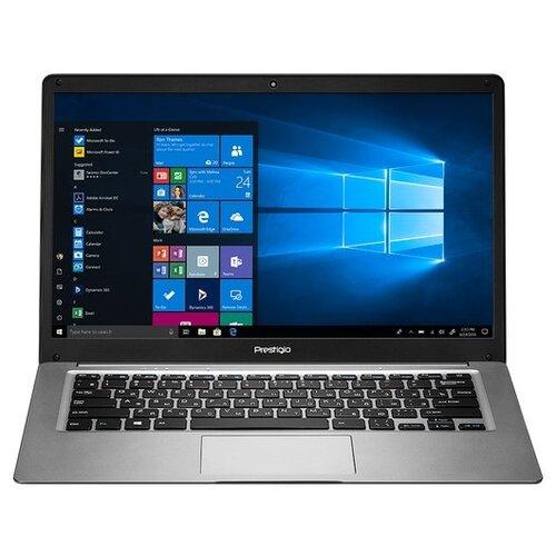 "Ноутбук Prestigio Ноутбук Prestigio SmartBook 141 C3 (Intel Atom x5 Z8350 1440MHz/14.1""/1366x768/2GB/64GB eMMC/DVD нет/Intel HD Graphics 400/Wi-Fi/Bluetooth/Windows 10 Home) PSB141C03BGH_DG_CIS темно-серый"