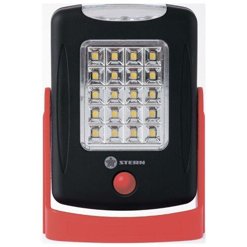 цена Кемпинговый фонарь STERN Austria 90554 черный/красный онлайн в 2017 году
