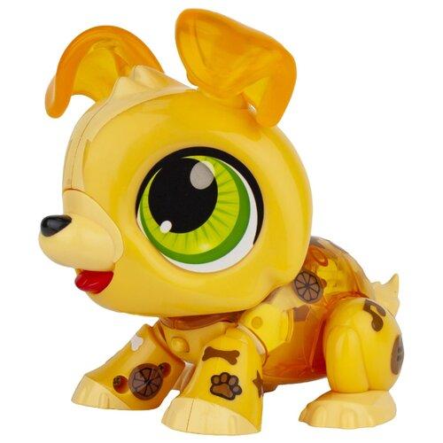 Фото - Интерактивная игрушка робот 1 TOY Робо Лайф Щенок желтый игрушка интерактивная 1toy robo pets робо щенок розовый