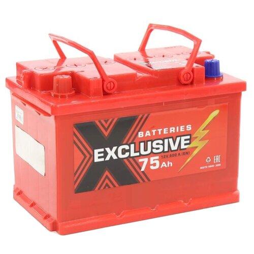 цена на Автомобильный аккумулятор Exclusive 6СТ-75 П/П
