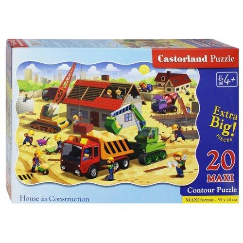 Купить Пазл Castorland House in Construction (C-02412), 20 дет., Пазлы