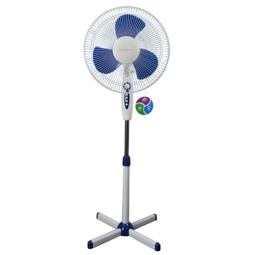 Напольный вентилятор Polaris PSF 0940 белый/синий