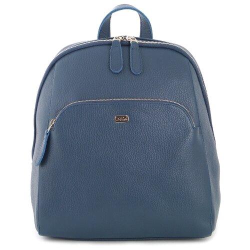 Рюкзак Solo 15, натуральная кожа, синий рюкзак solo solo mp002xw0r8jo