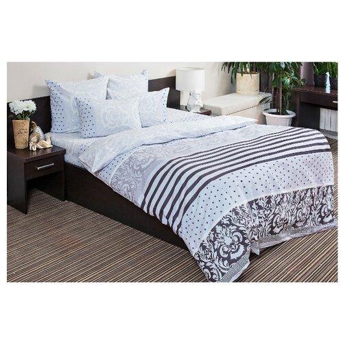 Постельное белье 2-спальное Ночь Нежна Мадрид 70х70 см, поплин серый