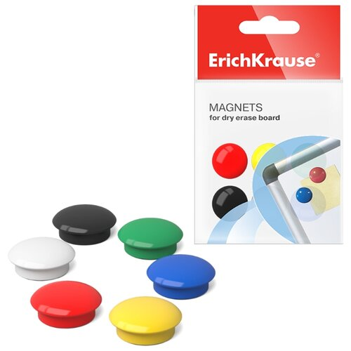Магниты для доски ErichKrause 22460 разноцветный