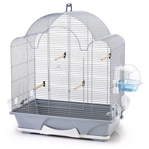 Клетка SAVIC Melodie 50 64х38х73.5см серебристый savic клетка savic primo 50 для птиц синяя 65х38х56 5 см