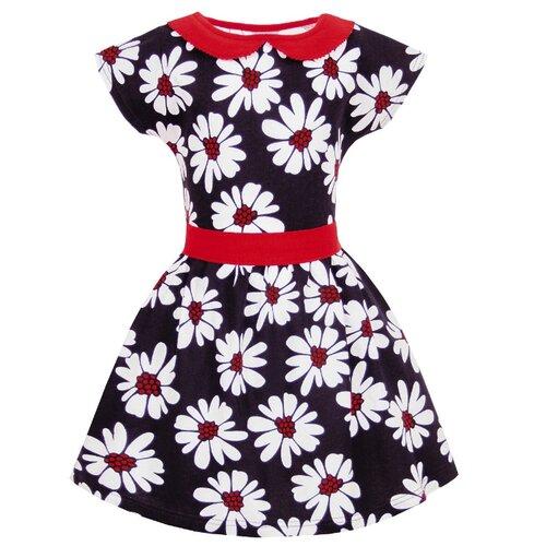 Купить Платье Апрель размер 104-54, синий, красный, Платья и сарафаны