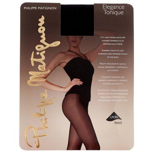 Колготки Philippe Matignon Elegance Tonique 30 den, размер 4-L, nero (черный) колготки philippe matignon nudite crystal 30 den размер 4 l nero черный