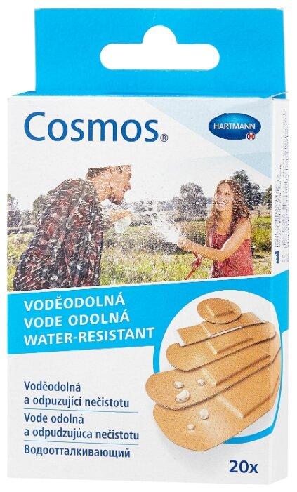 Cosmos Water-resistant пластырь водоотталкивающий 5 размеров, 20 шт.