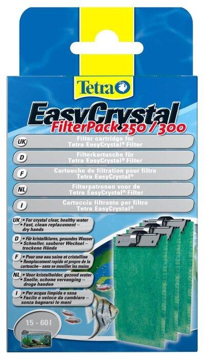 Tetra картриджи EasyCrystal FilterPack 250/300 (комплект: 3 шт.)