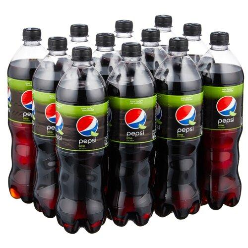 Газированный напиток Pepsi Lime, 1 л, 12 шт.