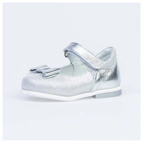 Туфли КОТОФЕЙ размер 23, 23 серебристый nobbaro 23 24