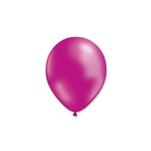Набор воздушных шаров MILAND Металлик 21 см (100 шт.) фуксия