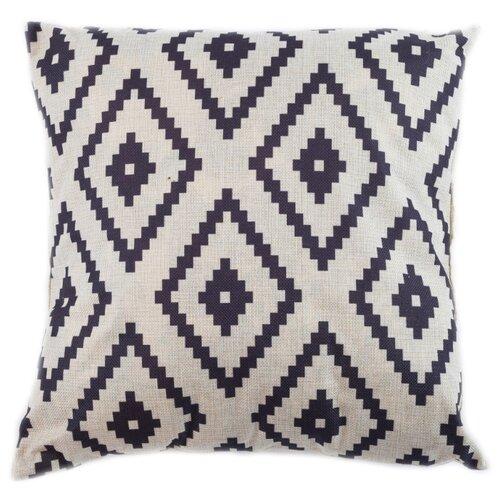 Чехол для подушки Pastel Ромб 45х45 см (1315528) бежевый чехол для подушки violet листья жаккард 45х45 см p02 5003 1