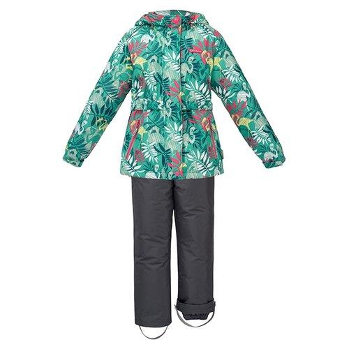 Комплект с брюками Premont Сад Найкка юко SP71237 размер 116, зеленый комбинезон premont сад под снегом wp91171 размер 116 серый