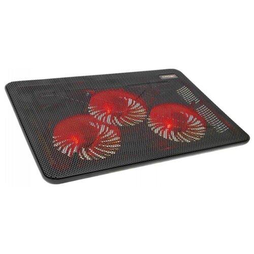 Подставка для ноутбука CROWN MICRO CMLC-1043T, черный/красный