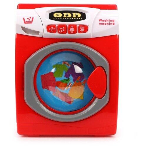 Купить Стиральная машина Wandisi 3000 красный/белый/серый, Детские кухни и бытовая техника