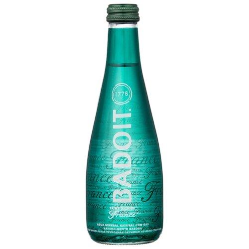 Вода минеральная Badoit газированная, стекло, 0.33 л минеральная вода от изжоги при беременности