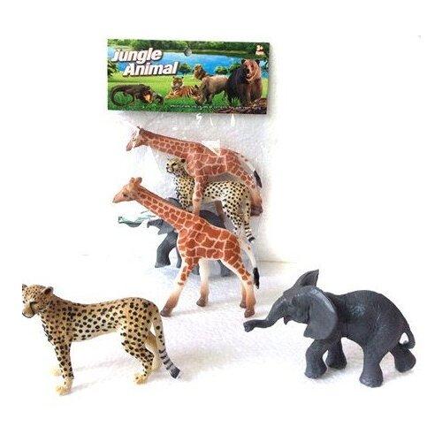 Купить Набор диких животных Jungle animal , 3 штуки, Shantou Gepai, Игрушечное оружие и бластеры