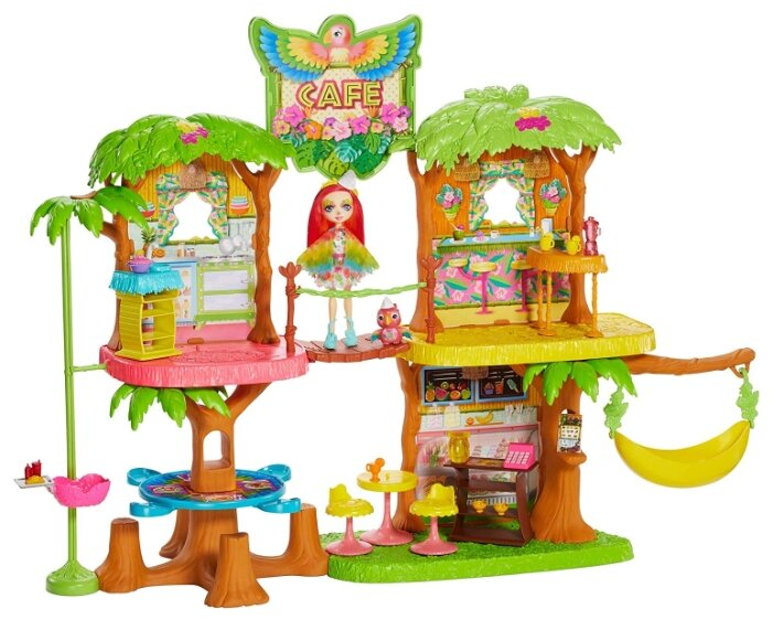 Игровой набор Mattel Enchantimals - Джунгли-кафе GFN59