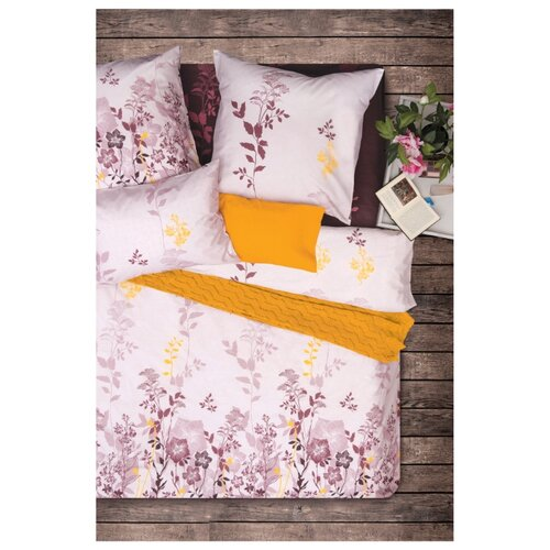 Постельное белье семейное Sova & Javoronok Сон в летнюю ночь 50х70 см, бязь розовый