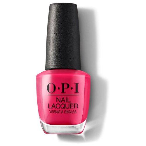 Лак OPI Nail Lacquer Classics, 15 мл, оттенок She's a Bad Muffuletta! лак opi nail lacquer classics 15 мл оттенок she's a bad muffuletta