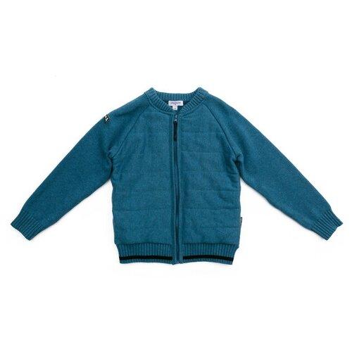Купить Кардиган playToday размер 104, голубой, Свитеры и кардиганы