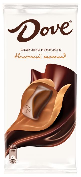 Купить Шоколад Dove молочный, 90 г по низкой цене с доставкой из Яндекс.Маркета (бывший Беру)