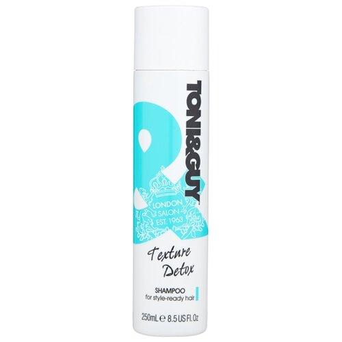 Toni & Guy шампунь для глубокого очищения волос и кожи головы Texture Detox 250 мл