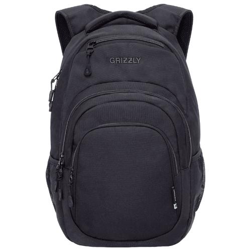 Фото - Рюкзак Grizzly RQ-003-3/4 21 (черный/серый) рюкзак grizzly rq 008 2 3 16 хаки