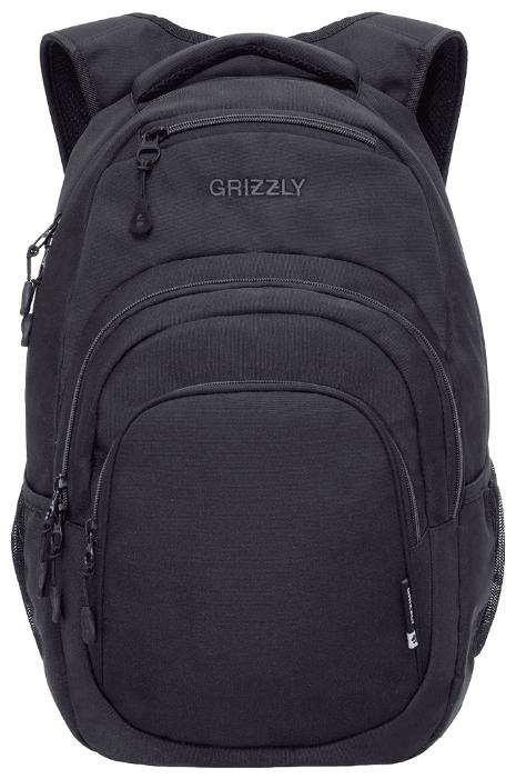 Купить Рюкзак Grizzly RQ-003-3/4 21 (черный/серый) по низкой цене с доставкой из Яндекс.Маркета (бывший Беру)