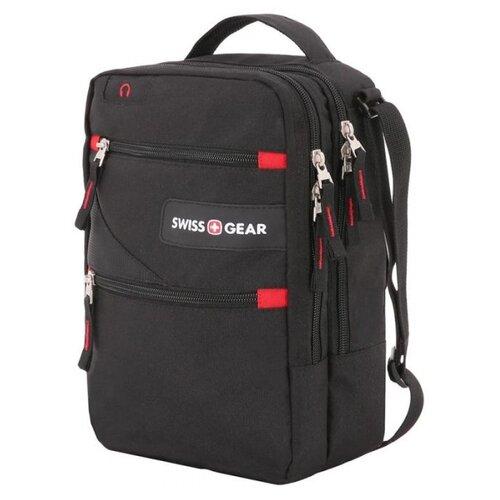 сумка планшет victorinox текстиль синий Сумка планшет SWISSGEAR, текстиль, черный