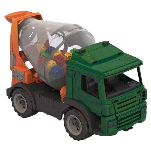 Бетономешалка Нордпласт Спецтехника (272) 41 см нордпласт бетономешалка медвежонок разноцветный