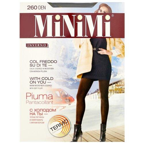 Леггинсы MiNiMi Pantacollant Piuma 260 den, размер 5-XL, nero (черный)